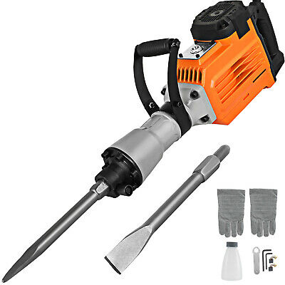 Demolition Hammer Concrete Breaker Jack hammer Drill Electric 3500W 2-Chisels