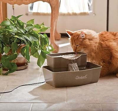 PetSafe Drinkwell Multi-Tier Dog and Cat Water Fountain,Automatic Drinking100oz.