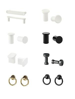 IKEA Knobs/ Handles/ Hooks-2 PACK+Screws-Chest Drawer,cabinet,Wardrobe,Cupboards