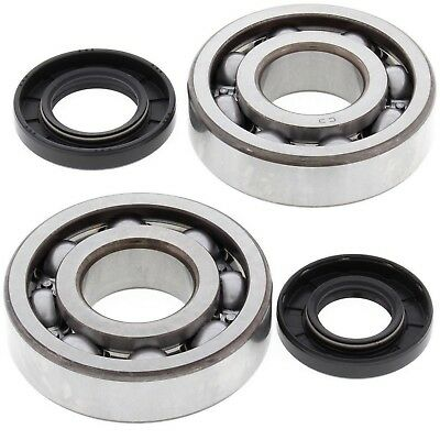 All Balls Crankshaft Bearings Seals Kawasaki KX250 87-01 24-1010