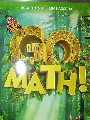 GO MATH Grade Level 1 539 Pages Houghton Mifflin