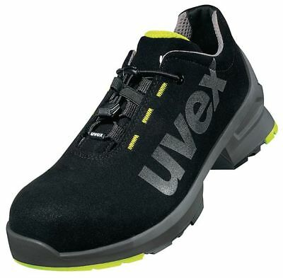 Pair UVEX Quality Safety Work Trainers 8544 S2 Strong Toe Cap Boots Size Shoes