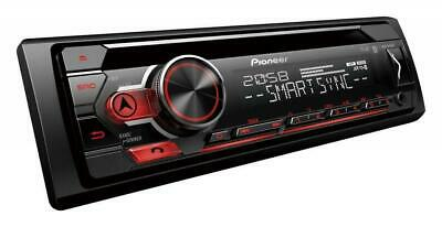 Pioneer DEH-S410BT Coche CD Sintonizador Bluetooth Estéreo USB Auxiliar Apple