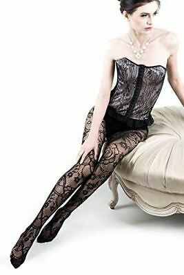 Killer Legs Women Floral Story Fishnet Tights Plus Size Stocking Pantyhose