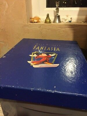 Walt Disney - Fantasia Deluxe Collectors Commerative video/cd set - good conditi