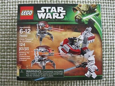 LEGO Star Wars Clone Troopers vs Droidekas 75000 New Sealed