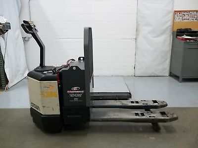 Crown PW3520-60 Walkie Pallet Truck w/Built in Charger 6000lb Cap 24V (FOR2105)