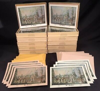 NOS Vintage Ahwahnee Hotel Yosemite National Park 50th 1929 Stationary Collector