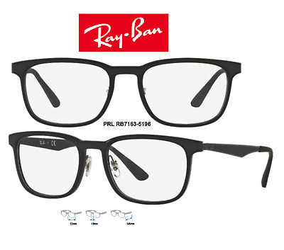 Ray-Ban RB7163 5196 Eyeglass Frames Unisex Black Size 53mm 100% Authentic & New