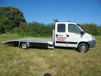 2007 Iveco Daily 65C-18 Beavertail Recovery Truck 6.5 Ton 3.2 Payload