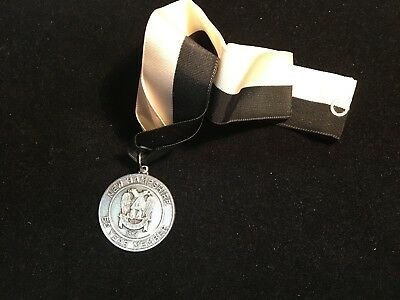 """Vintage New Hampshire Scottish Rite """"50 Year Member"""" Medal and Ribbon"""
