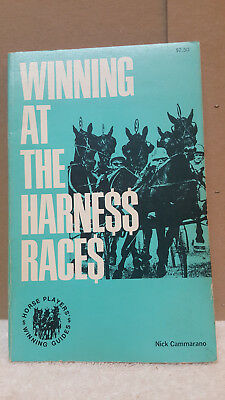 """""""RARE"""" Winning At The Harness Races. BY RICK. CAMMARANO BOOK 1976"""