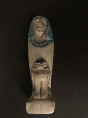 Rare Ancient Egyptian Queen Hatshepsut With Horus (18th Dynasty)