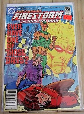 The Fury of Firestorm #14 Canadian newsstand price variant 1984 FN
