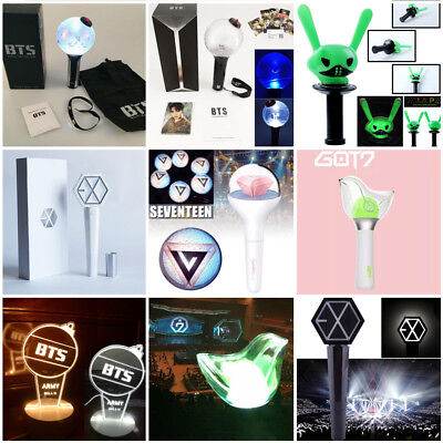 KPOP BTS ARMY Bomb EXO GOT7 SEVENTEEN B.A.P Lightstick Concert Light Stick Lot