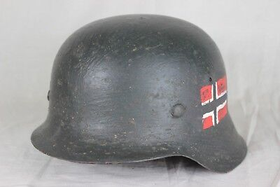 Original German M42 Size 68 with Reproduction Liner