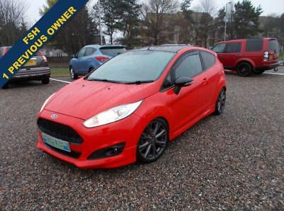2015 64 Ford Fiesta 1.0 Zetec S Red Edition 3D 139 Bhp