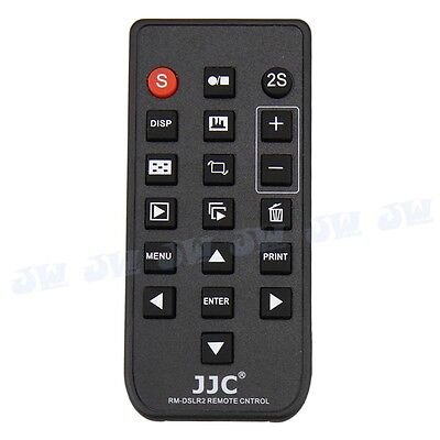 JJC Wireless Remote Control fr Sony A6500 A6400 A6300 A6000 NEX 7 6 as RMT-DSLR2