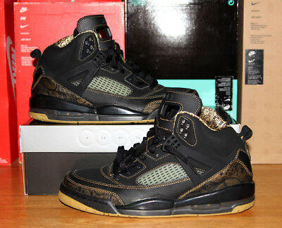 Air Jordan Spiz'ike Euro Black Metallic Gold 315371-072 sz.11 Spike Lee OG 4