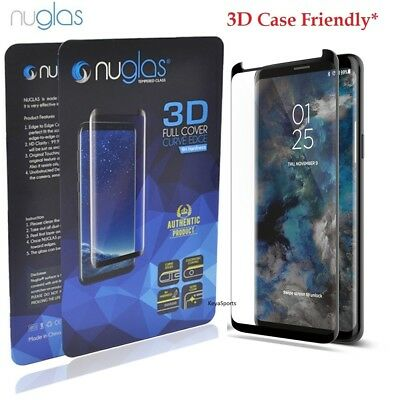 NUGLAS Tempered Glass Screen Protector Samsung Galaxy S10 5G S9 S8 Plus Note 9 8