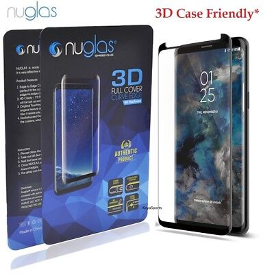 NUGLAS Tempered Glass Screen Protector Samsung Galaxy S10 S9 S8 Plus Note 9 8