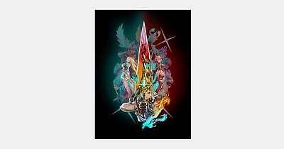G-554 Jump Force Video Game Fabric Poster Goku Luffy Naruto 20x30 24x36