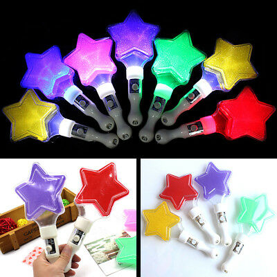 Creative Star Glow Light Stick Night Party Performance Decor Kids Toy Prop Beamy