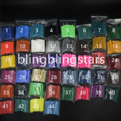1040 Pcs/Bag Dental Orthodontic Ligature Ties Elastic Rubber Bands 45 Colors