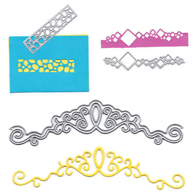 Card Cover Border Decor Metal Cutting Dies Stencils for DIY Scrapbooking Album