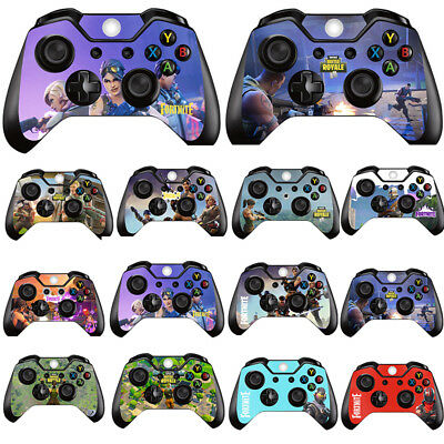 Fortnite Battle Royale Xbox One Shooter Sticker Controller Skin Cover Stickers