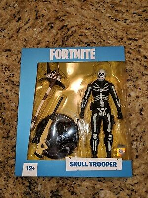 NEW Fortnite Skull Trooper 7 inch Action Figure by McFarlane Toys New and Rare