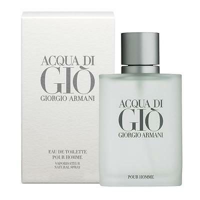 GIORGIO ARMANI Acqua Di Gio 6.7 oz / 200 ml  EDT Cologne for MEN *NEW IN BOX*