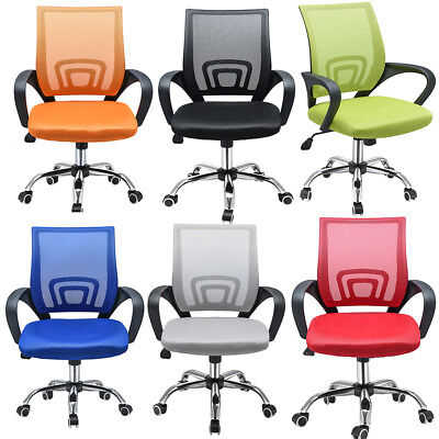 Executive Office Chair Computer PC Chair Height Adjustable Swivel Armrest Mesh