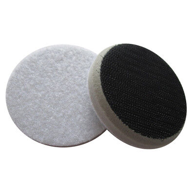 "2"" 2.4"" 3"" 3.4"" 5"" Chamfer Sponge Interface Pad Hook Loop 15mm Backing Pads"