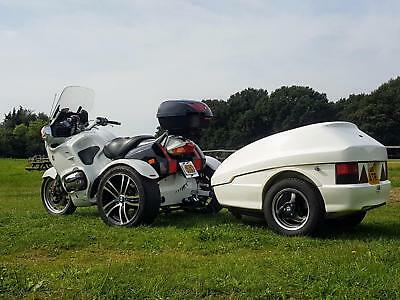 BMW R1150RT Trike + Touring Trailer! Tested with Video