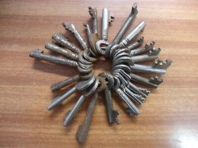 A Collection Of Old Keys