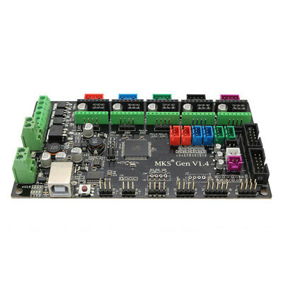 1X(Placa controladora PCB MKS Gen V1.4 placa base integrada compatible RampR4K6)