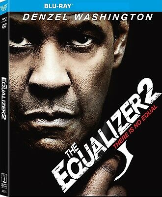 Equalizer 2 (Bluray) No DVD No Digital Code No Slipcover Ships 12/11