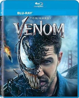 Venom (Bluray, 2018) No DVD No Digital Code No Slipcover Ships 12/18