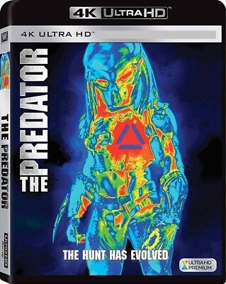 The Predator (4K UHD Bluray, 2018) No Regular Bluray No Digital Code 12/18