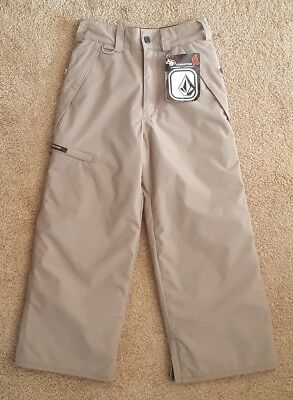 Volcom Transition Snowboard Insulated Snow Pants Youth Boys Size M