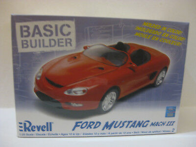 Revel Ford Mustang Mach Iii Sports Car 1/25 Scale Factory Sealed