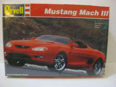 Revell Mustang Mach Iii Sports Car 1/25 Scale Skill Level 2 Factory Sealed