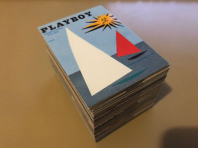 Playboy 40th Anniversary August Edition - Complete Card Set (129) - 1995 - NM