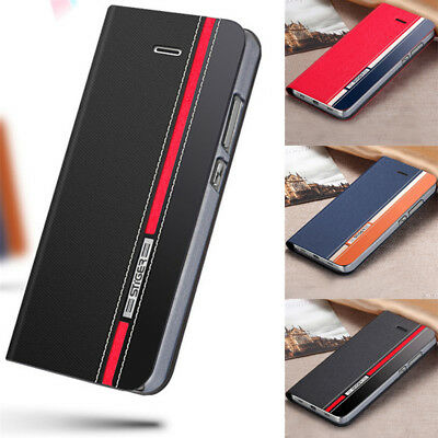 For Xiaomi Mi Max 3 A1 A2 Luxury Flip Leather UItra Slim Wallet Stand Case Cover