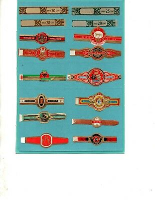 Cigar Bands All Different ( Offer 1206)