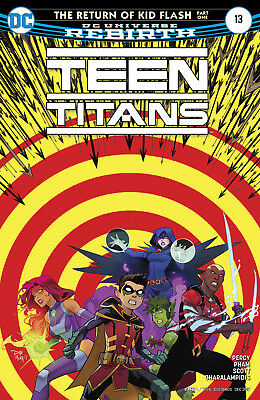 ***teen Titans #13 (2017) 1St Printing Slight Manufacturing Defect***