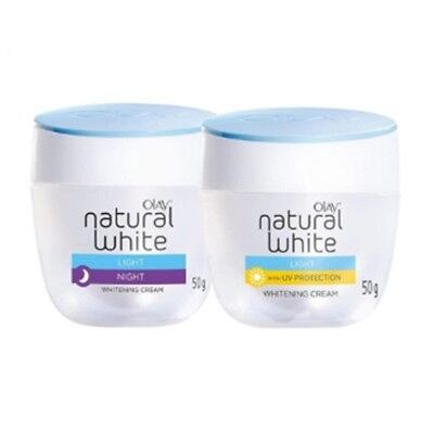 Olay natural white all in one day&night cream whitening spf24 triple vitamin 50g