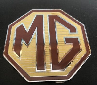 MG TF Front or rear overlay badge, new