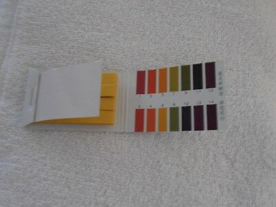 "PH 1-14  Indicator Strips  720 Strips 3/8"" X 2 1/8"""